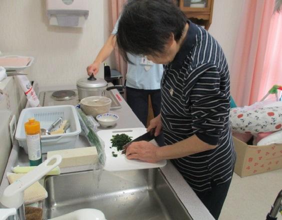 調理訓練行いました!